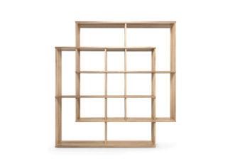 An Image of Wewood X2 Smart Shelf Oak