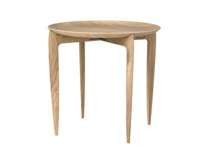 An Image of Fritz Hansen Tray Side Table Oak