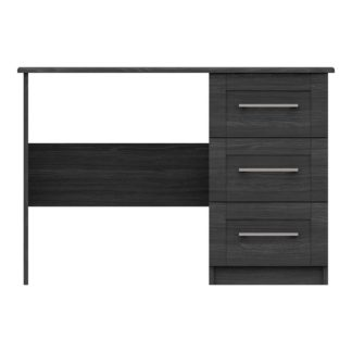 An Image of Ethan Graphite Dressing Table Grey