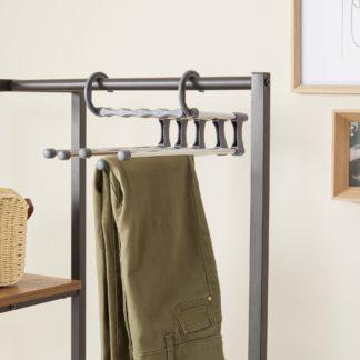 An Image of Metal Easy Remove Trouser Hanger Metallic