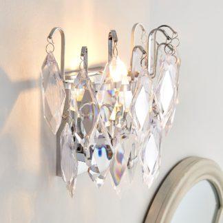 An Image of Parla Jewel Wall Light Chrome