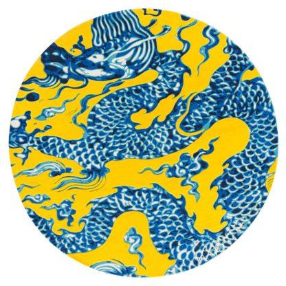 An Image of Gandia Blasco China Rug Yellow