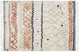 An Image of Drax Berber Style Rug, Large 160 x 230cm, Multi