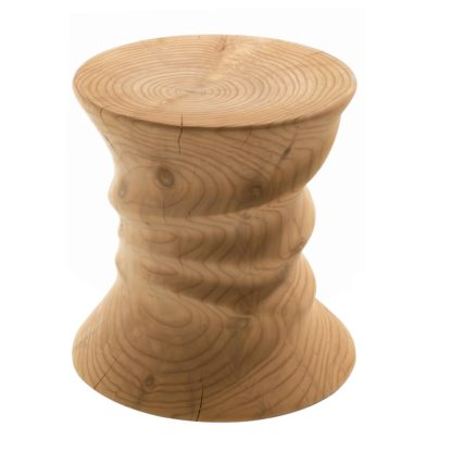 An Image of Riva 1920 Squeeze Stool Cedarwood