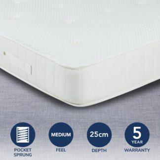 An Image of Fogarty Eco Orthopedic 1000 Pocket Mattress White