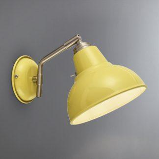 An Image of Bradwell Ochre Wall Light Ochre