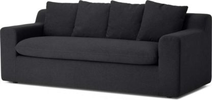 An Image of Benson Metal Action Sofa Bed, Sterling Grey