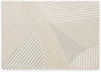 An Image of Kyra Wool Rug, Large 160 x 230cm, Neutral