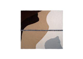An Image of ferm LIVING Vista Bedspread Sand 240 x 250cm