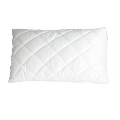 An Image of The Wool Room Deluxe Wool Standard Ball Pillow II