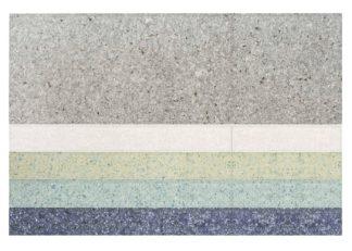 An Image of Gandia Blasco Nuances Rug Line Nalad Blue 200 x 300cm