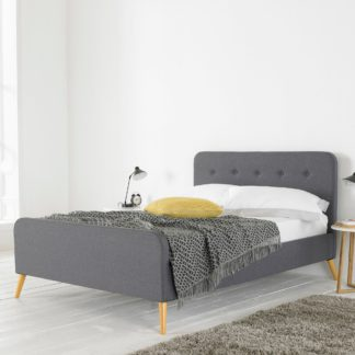 An Image of Renee Bed Frame Grey