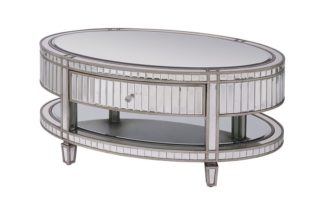 An Image of Antoinette Toughened Mirror Coffee Table