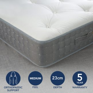 An Image of Fogarty Orthopaedic 1500 Pocket Sprung Mattress White