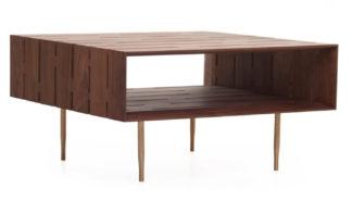 An Image of De La Espada Horizon Coffee Table Walnut Small