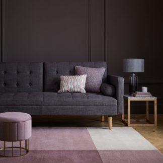 An Image of Akari Wool Rug Purple and Grey