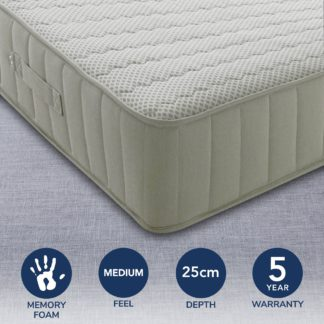An Image of Memory Comfort Mattress White