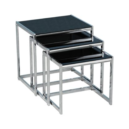 An Image of Henrietta Nest of Tables Black