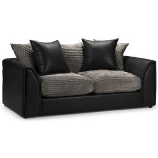 An Image of Byron Sofa Bed Grey/Black