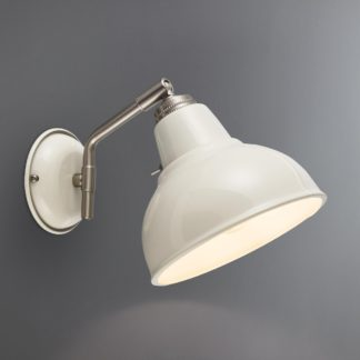 An Image of Bradwell Ivory Wall Light Cream