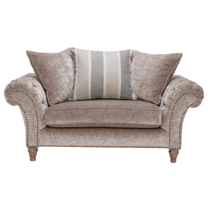 An Image of Craven Snuggle Chair With Studs