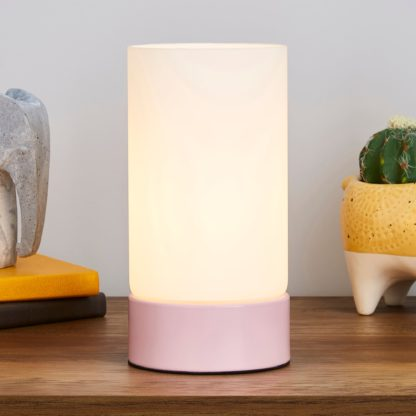 An Image of Ferris Table Lamp Pink
