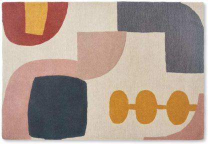 An Image of Bodhi Wool Handtuft Rug, 140x200cm, Multi