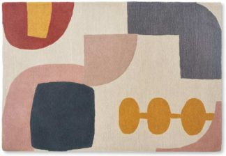 An Image of Bodhi Wool Handtuft Rug, Large 160x230cm, Multi