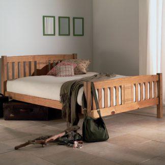 An Image of Sedna Bed Frame Brown
