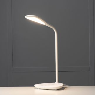 An Image of Koble Elliptical Phone Charging Lamp White