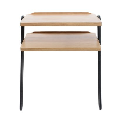An Image of Heal's Brunel Lean-To Side Table Metal