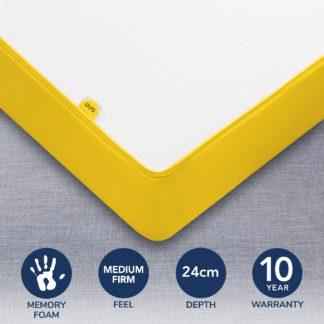 An Image of Eve Original Memory Foam Mattress Yellow
