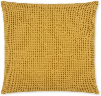 An Image of Grove 50 x 50cm 100% Cotton Cushion, Mustard
