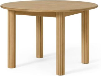An Image of Tambo 4 Seat Round Dining Table, Oak