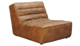 An Image of Timothy Oulton Shabby 1 Seater Sofa Savage Leather