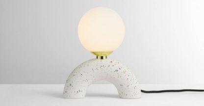 An Image of Eye Candy Table Lamp, Terrazzo