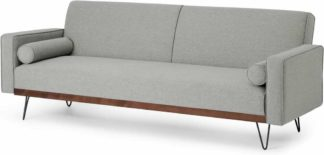 An Image of Warner Click Clack Sofa Bed, Moonlight Grey