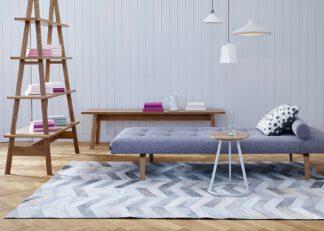 An Image of Linie Design Indah Hide Rug