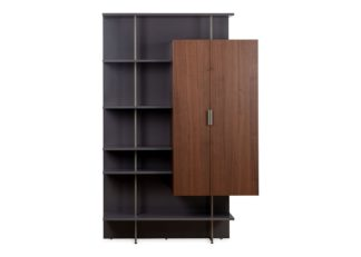 An Image of Ligne Roset Everywhere Shelving Unit With Cupboard