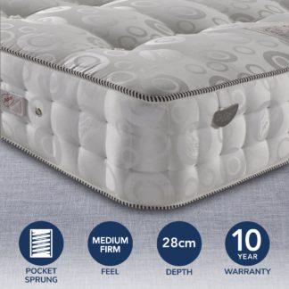 An Image of Pocketo 4000 Pocket Sprung Mattress Grey