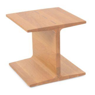 An Image of De La Espada I-Beam Side Table Danish Oiled Oak