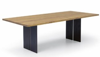 An Image of Riva 1920 Natura Table 4-6 Seater Oak