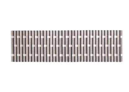 An Image of Case Purlin Flatweave Runner Warm Grey
