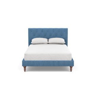 An Image of Heal's Balmoral Bedstead DoubleTejo Recycled Cobalt