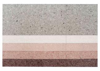 An Image of Gandia Blasco Nuances Rug Line Burgundy 200 x 300cm