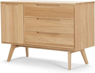 An Image of Jenson Compact Sideboard, Oak