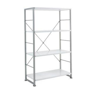 An Image of Cabrini Bookcase Silver