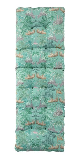 An Image of Argos Home Relaxer Cushion - Wilderness Jungle