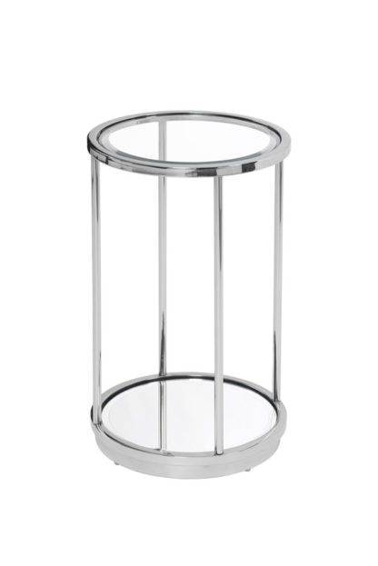 An Image of Rippon Silver Circular Side Table