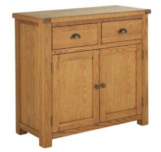 An Image of Habitat 2 Door 2 Drawer Sideboard - Oak